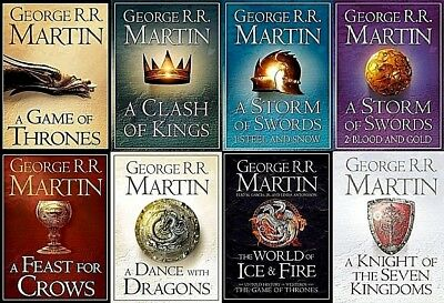 Game of Thrones(A Song of Ice and Fire) Complete Audiobooks By George R.R Martin