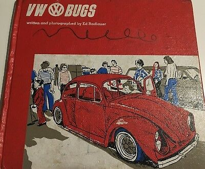 Volkswagen Beetle VW Bug Hardcover Book written and photographed by Ed Radlauer