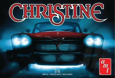 """Amt 1958 Plymouth Belvedere """"christine"""", Red, Skill 2, 1:25, Amt801M, Hc_Oz"""