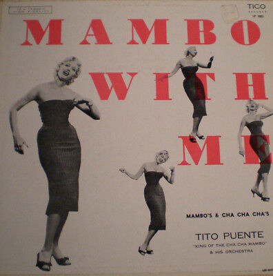 TITO PUENTE - MAMBO WITH ME - US 55 - MONO - 1st PRESS