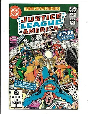 Justice League Of America # 201 (Apr 1982), Fn/vf