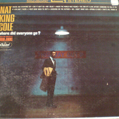 NAT KING COLE - WHERE DID EVERYONE GO - US 63 - 1st PRESS