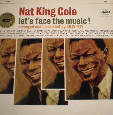 NAT KING COLE - LET'S FACE THE MUSIC - DE 63 - 1st PRESS