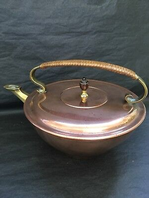 Copper Chinese Tea Kettle W A S Benson C1910 Arts And Crafts Era