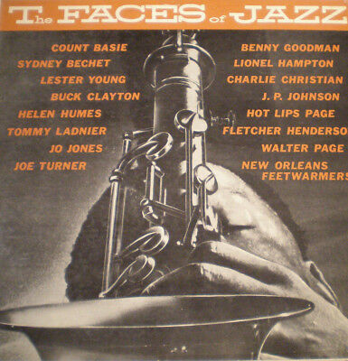 FACES OF JAZZ - US 56 - MONO - 1st PRESS