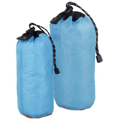 2x Ultralight Waterproof Dry Bag Stuff Sack Camping Drawstring Storage Pouch