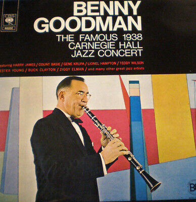 BENNY GOODMAN - THE FAMOUS 1938 CARNEGIE HALL JAZZ CONCERT (2 LPs) - NL 70 - NM