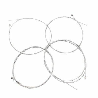 Set of 4 Replacement Steel Electric Bass Guitar String Strings UK Seller