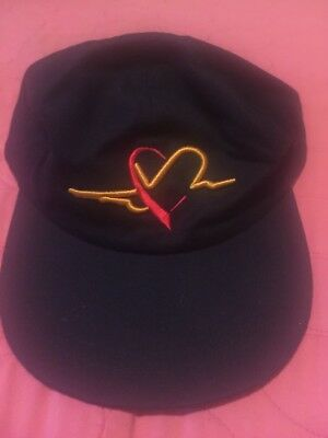 Vintage Southwest Airlines ball cap hat Navy blue airplane outline
