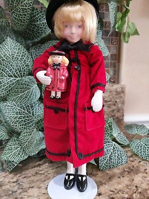 """NEW Nicole 9 1/2"""""""" Madeline and Friends Poseable Dolls  1993Vintage"""