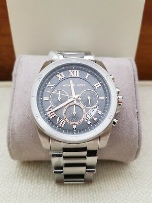 5af500e366e1 MICHAEL KORS WOMEN S  Brecken  Chronograph Two-Tone Stainless Steel ...