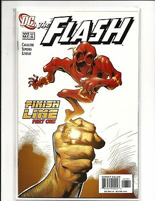 FLASH # 227 (FINISH LINE Part 1, DEC 2005), VF/NM