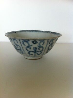 Chinese blue and white Ming dynasty bowl 16th/17thc!