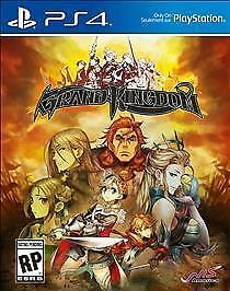 Grand Kingdom RE-SEALED Sony PlayStation 4 PS PS4 GAME