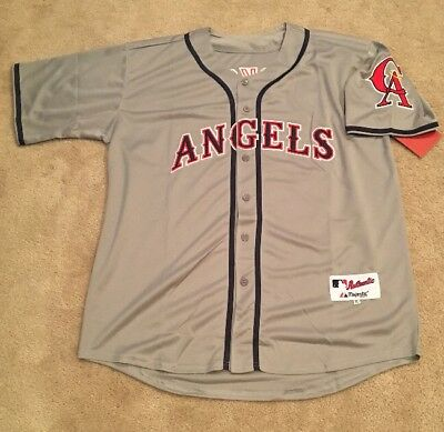 100% authentic 4d074 bf7d0 bo jackson california angels jersey
