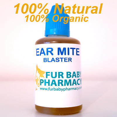 The Most Effective Ear Mite Treatment For Dogs Cats Rabbits Animals Huge 50Ml