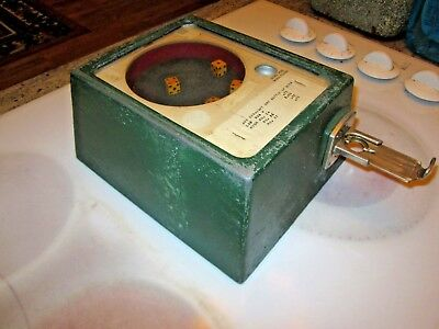 antique COIN OP trade stimulator DICE GAME Bar Top  MAN CAVE SALOON