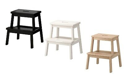 Fantastic New Ikea Bekvam Quality Sturdy 2 Step Stool Ladder Solid Ibusinesslaw Wood Chair Design Ideas Ibusinesslaworg