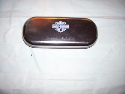 Harley Davidson/waterman Metal Pen Presentation/storage Box