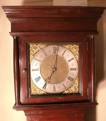 "Antique Mahogany Brass Dial "" London""   Longcase / Grandfather Clock"
