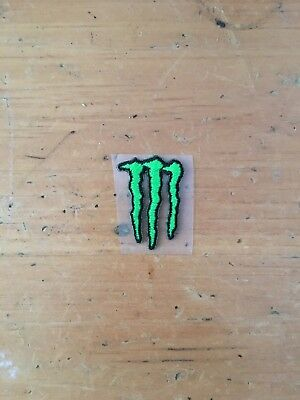 Small Monster Energy Athlete Sticky Patches