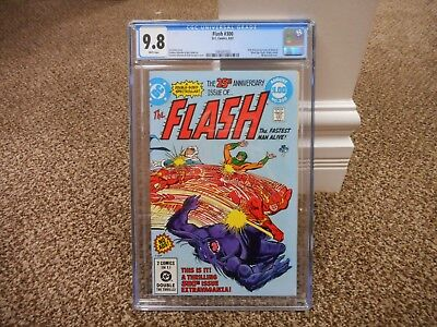 Flash 300 cgc 9.8 Captain Cold Gorilla Grodd DC 1981 MINT WHITE pgs 1st series