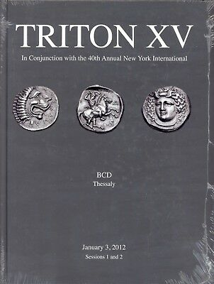 The BCD Collection of the Coinage of Thessaly Triton XV Auction Catalog Ancient