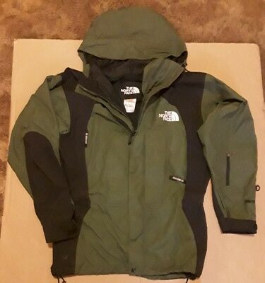 0687b5f686 ... discount rare north face green vtg 90s gore tex mountain jacket mens m  guide c3c67 4a0ff ...