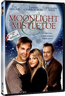 NEW DVD - MOONLIGHT & MISTLETOE - CHRISTMAS - Tom Arnold, Candace Cameron Bure,