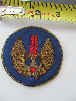 Ww2 Theater Made Bullion Usaaf In Europe Hq Patch