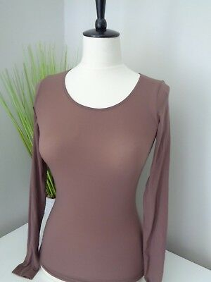 BNWT Wolford Clove Buenos Aires Pullover Shirt Seamless Top - 58238 size M