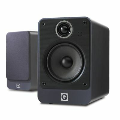 Q Acoustics 2020i Bookshelf Speakers Pair Graphite Brand New UK