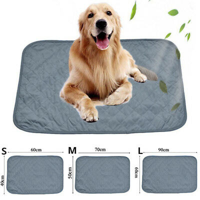 Pet Cooling Mat Chilly Pad Cooling Pet Dog Bed Indoor Summer Cool Gel Pad
