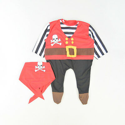 Disfraz pirata color Rojo marca BoysToys 6 Meses  512910