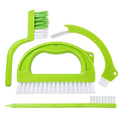 Grout Cleaner Brush Tile Joint Scrubber Brushwith Nylon Bristles 4 in 1