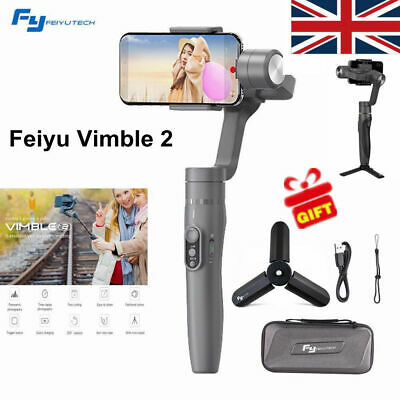 Feiyu Vimble 2 Extendable Handheld 3-Axis Gimbal Stabilizer for iPhone X Samsung