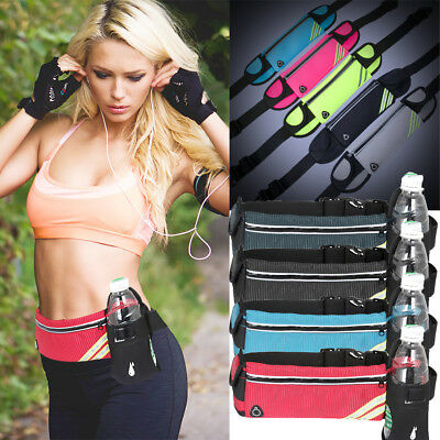 AU Belly Waist Bag Fitness Running Jogging Cycling Belt Pouch Sports Fanny Pack