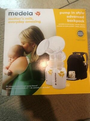 Medela Double Electric Breastpump NEW Pump In Style Advanced Backpack