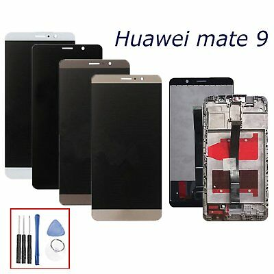 For Huawei Mate 9 LCD Display Touch Screen Digitizer Assembly Replacement Frame