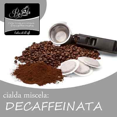 Caffè RUOTA DECAFFEINATO: KIT 150 CIALDE + ACCESSORI ese 44mm Miscela in box 150