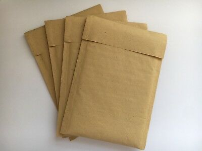 4x QUALITY PADDED ENVELOPES BAGS 150mm x 210mm PEEL & SEAL