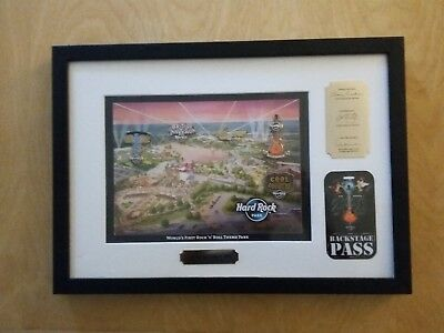 LIMITED #208 Myrtle Beach HARD ROCK CAFE PARK GRAND OPENING 5 PIN SET