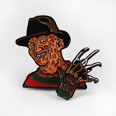 Creepy Co. Enamel Pin Freddy 3D Slasher Hand Brand New Out of Print