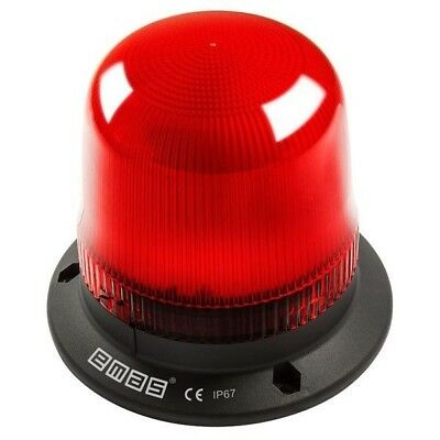 emas IT120R220 120mm LED Flashing Beacon Red 220V AC