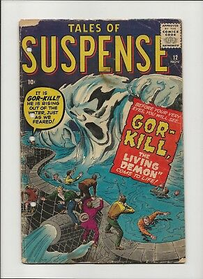 TALES OF SUSPENSE 12 (1960) - Silver Age Horror!