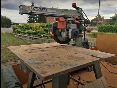 DeWalt DW8001 Radial Arm Saw. ****Cash On Collection Only****
