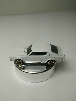 Hot Wheels 2011 '73 Nissan Skyline 2000 GT-R White Kenmeri JDM Import Rare HTF