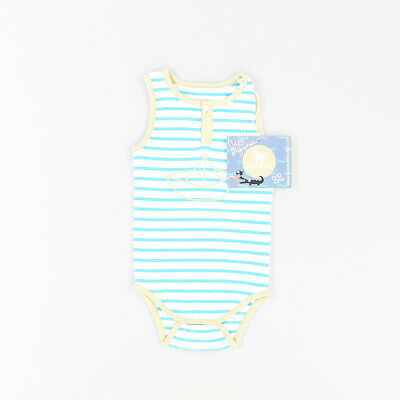 Camiseta body color Azul marca La queue du chat 12 Meses  512730