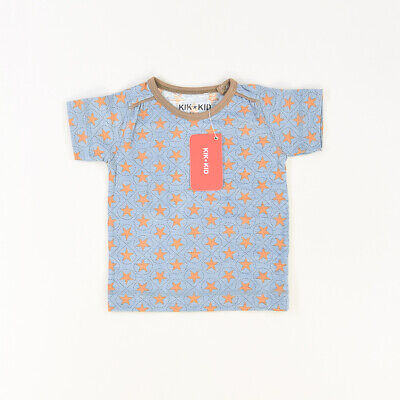 Camiseta color Azul marca Kik Kid 12 Meses  512719