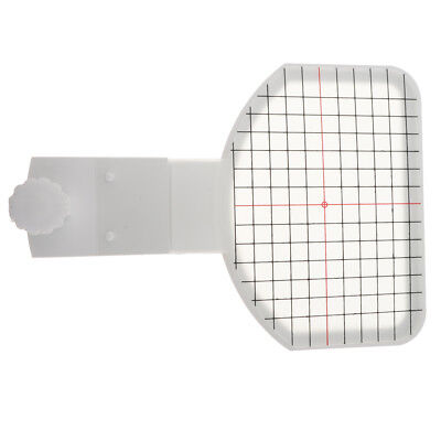 White Plastic Cap Hat Hoop for Brother Sewing Machine Embroidery Frame
